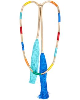 Isabel Double-tassel Necklace