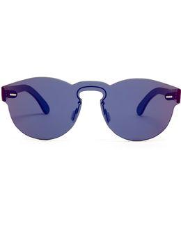 Tuttolente Paloma Infared Round-frame Sunglasses