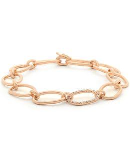 Diamond & Rose-gold Bracelet