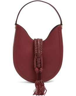 Ghianda Small Leather Shoulder Bag