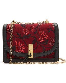 Ghianda Floral-brocade Shoulder Bag