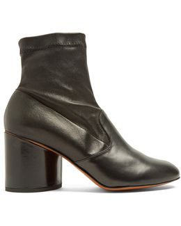 Koss Leather Ankle Boots