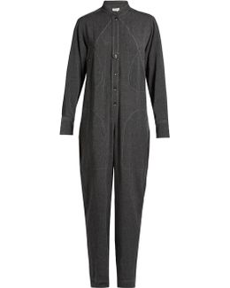 Marian Long-sleeved Jumpsuit