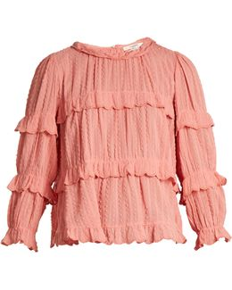 Ykaria Tiered Frill Blouse