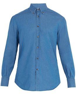 Regular-fit Single-cuff Cotton Shirt