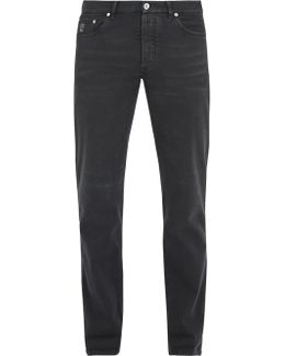 Straight-leg Five-pocket Jeans