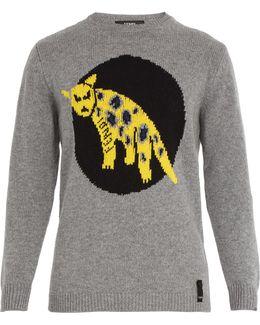 Jaguar Knitted Jumper