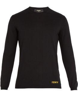 Bag Bugs-intarsia Wool Sweater