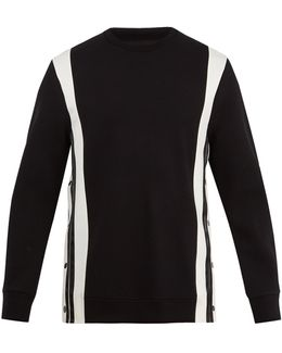 Crew-neck Neoprene Sweatshirt