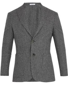 Notch-lapel Wool, Cotton And Cashmere-blend Blazer