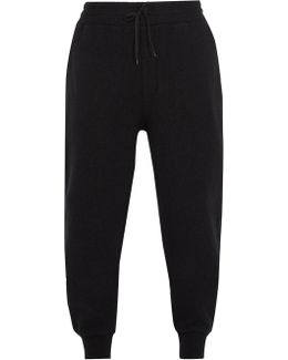 Relaxed-leg Wool Track Pants