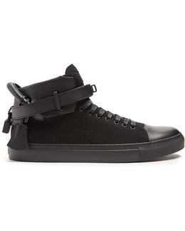 100mm Lana High-top Trainers