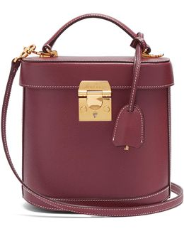 Benchley Grained-leather Shoulder Bag