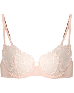 Tuberose Underwired Lace Balconette Bra