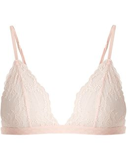 Tuberose Soft-cup Lace Triangle Bra