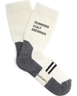 Patchwork Tube Socks