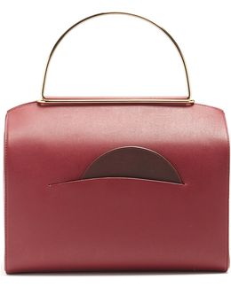 Signature Leather Bowling Bag