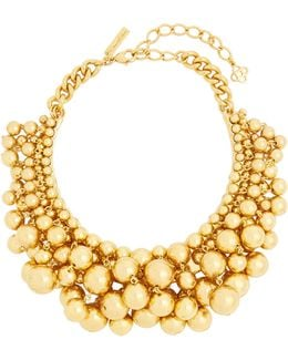 Sphere-embellished Necklace