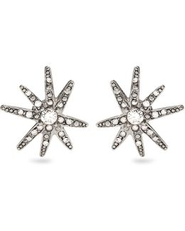 Fireworks Crystal-embellished Clip-on Earrings