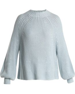 Sequoia Ribbed-knit Cotton-blend Sweater