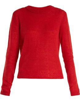 Rosalie Long-sleeved Knit Sweater