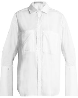 Double-cuff Cotton Shirt