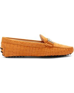 Gommini T-bar Suede Loafers