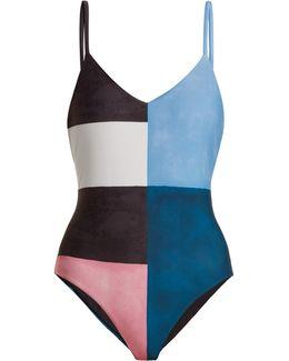 Celeste Colour-block Swimsuit