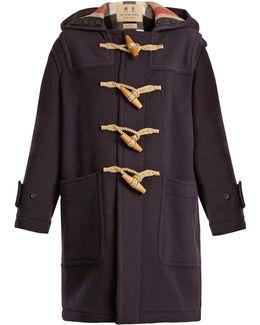 Greenwich Hooded Wool-blend Coat