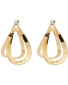 Endless Gold-plated Earrings