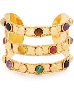 Massai Triple Gold-plated Cuff