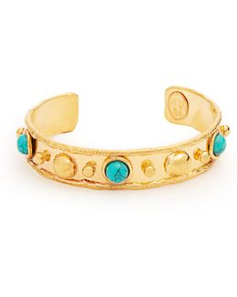 Massai Small Gold-plated Cuff