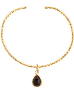 Torque Gold-plated Necklace