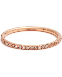 Diamond & Pink-gold Ring