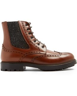 Smooth-leather Boots
