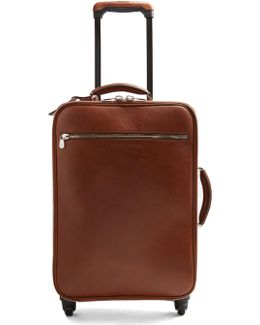 Leather Cabin Suitcase