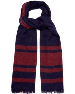 Oversized-check Cashmere Scarf