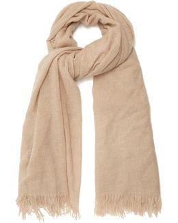 Fine-knit Cashmere Scarf