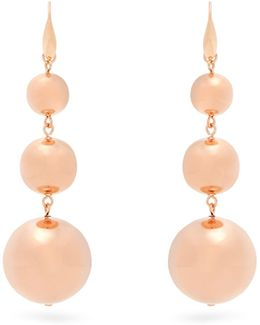 Ex Voto Triple Sphere-drop Earrings