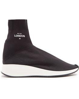London High-top Sock Trainers