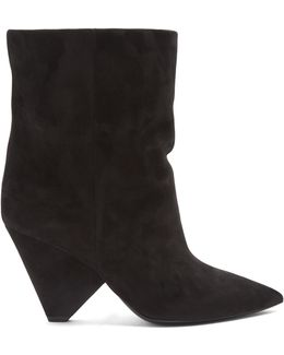 Niki Suede Ankle Boots