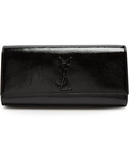 Kate Patent-leather Clutch