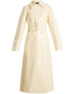 Ardal Coated Trench Coat