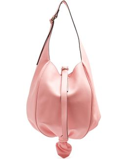 Knot Leather Shoulder Bag
