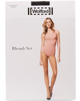 Rhomb Net Tights