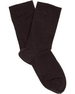 Cotton-blend Ankle Socks