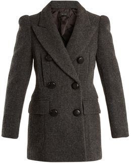 Lea Double-breasted Wool Coat