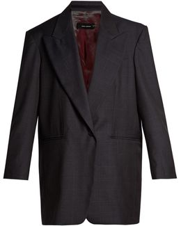 Meroy Prince Of Wales-checked Jacket