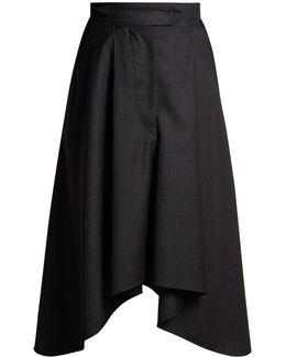 Misa Prince Of Wales-checked Skirt