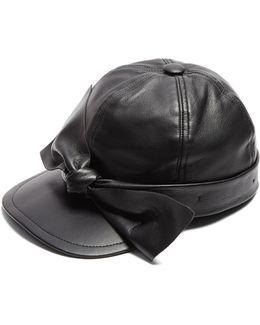 Liu 6 Leather Cap